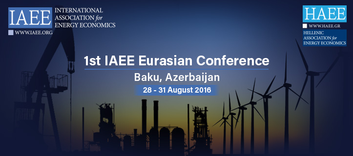 1st IAEE Eurasian Conference