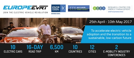 ESCP Europe EVRT: E-Mobility Conference, London