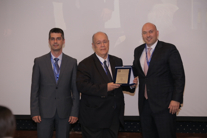Professor Pantelis Kapros was awarded during the 2nd International HAEE Conference