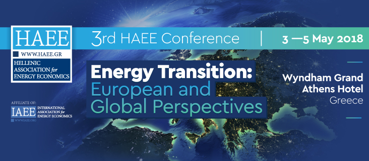 3rd HAEE Annual Conference: Energy Transition: European and Global Perspectives