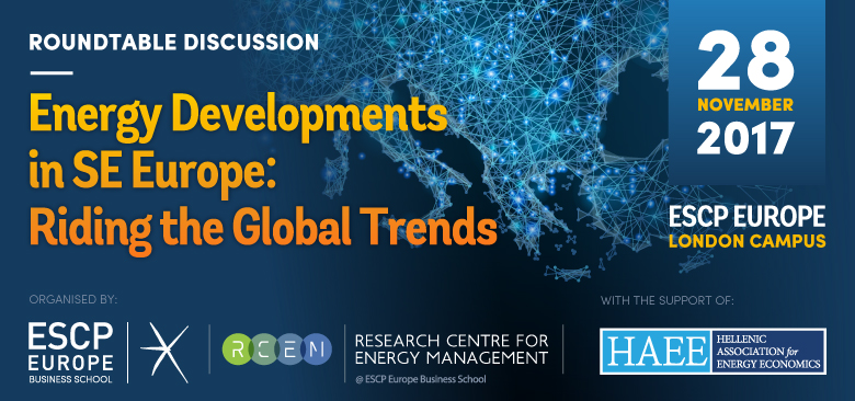 Energy developments in SE Europe: Riding the Global Trends