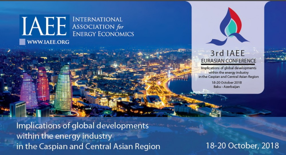 3rd IAEE Eurasian Conference 2018