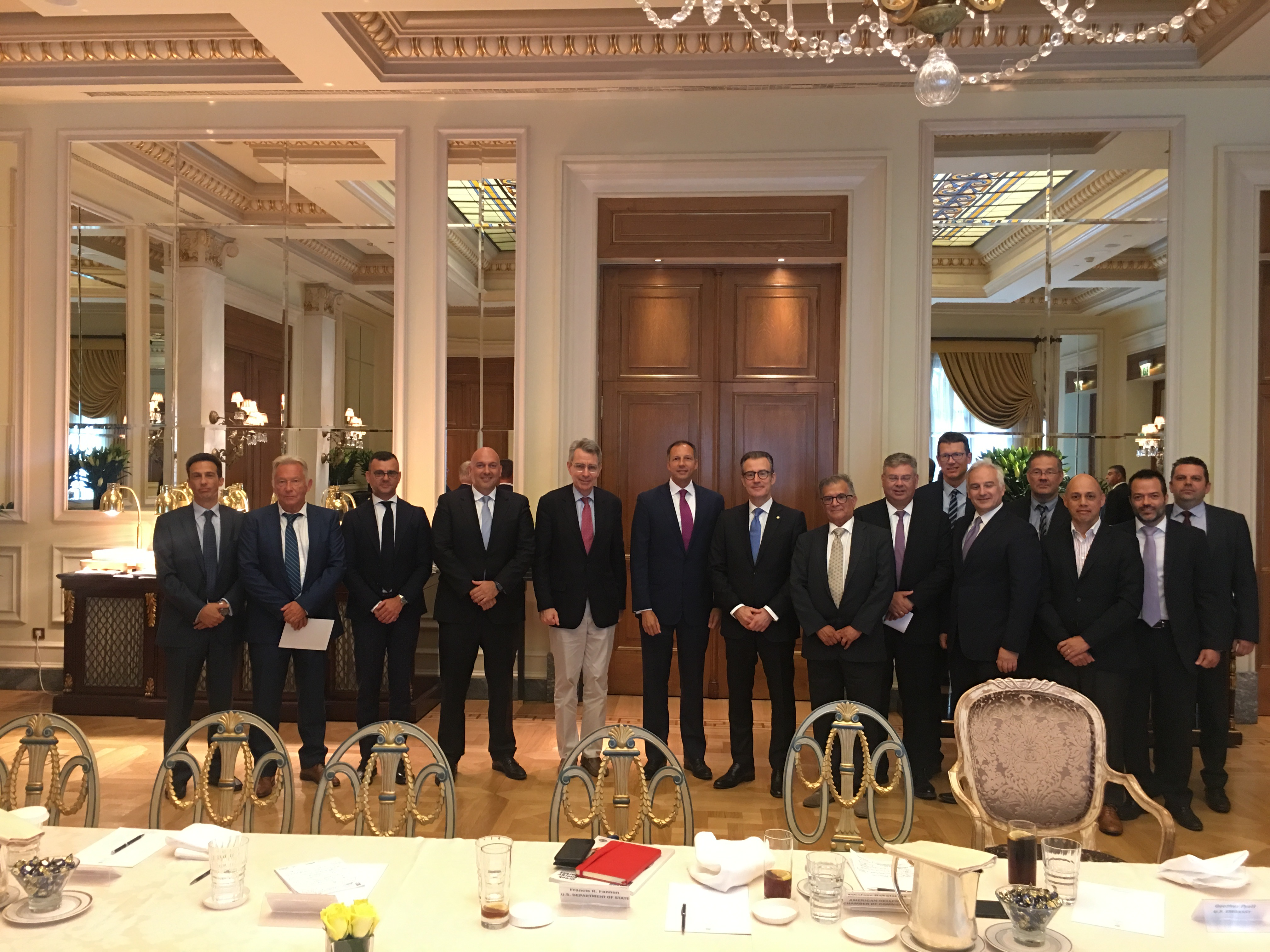 Working Lunch on US - Greece energy relations